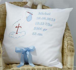 Geburtskissen Michael