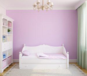 Kinderbett im Kinderzimmer