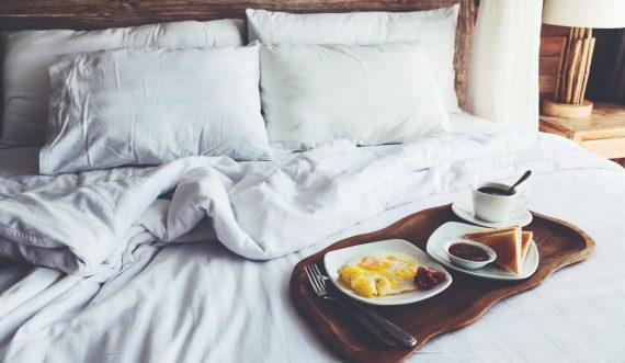 Frühstück im Text