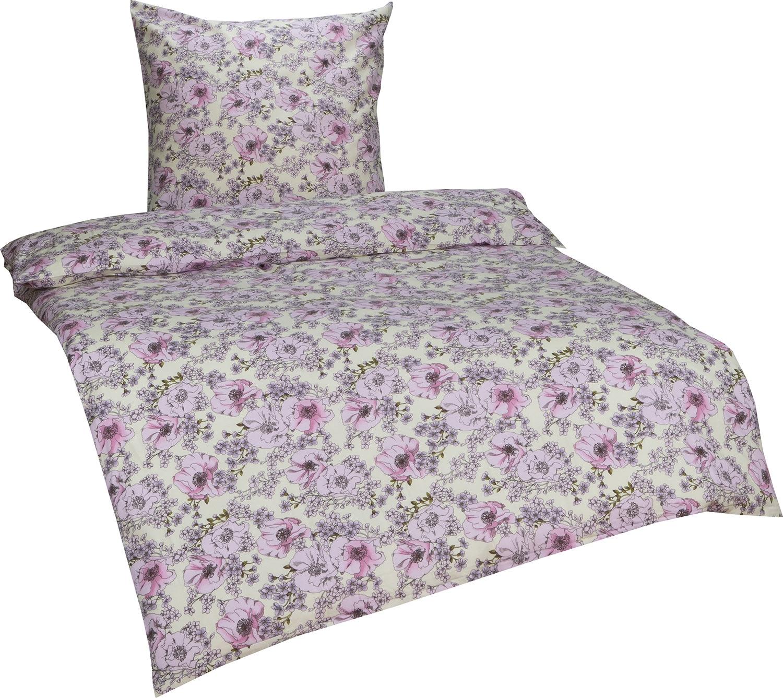 bettw sche blumen wei rosa bettwaesche mit stil. Black Bedroom Furniture Sets. Home Design Ideas
