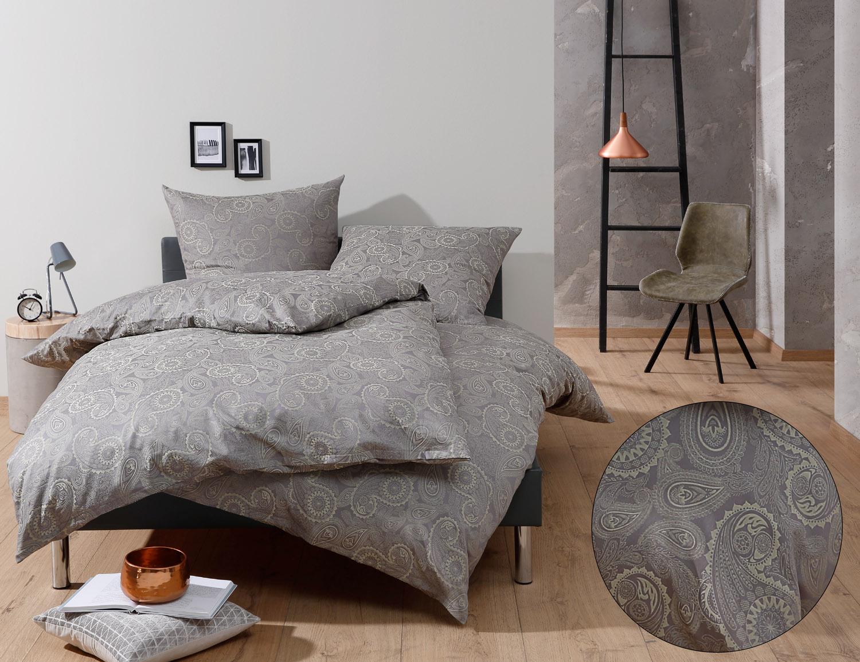 bettw sche davos gr n kaufen bettwaesche mit stil. Black Bedroom Furniture Sets. Home Design Ideas