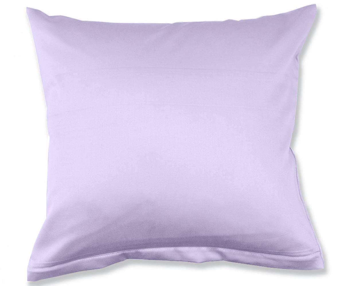 einfarbiges kissen lavendel lila bettwaesche mit stil. Black Bedroom Furniture Sets. Home Design Ideas
