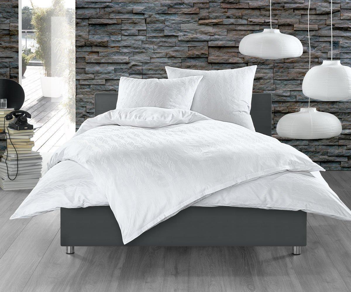 bettw sche waves wei kaufen bettwaesche mit stil. Black Bedroom Furniture Sets. Home Design Ideas