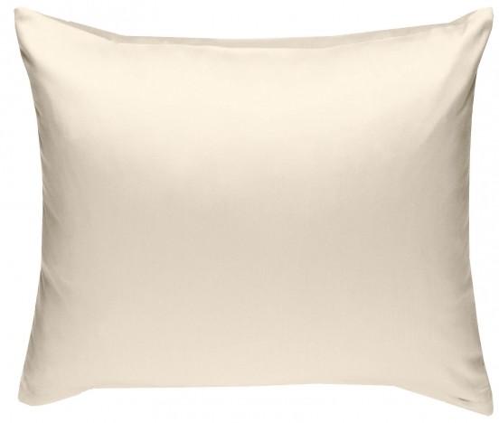 Mako Satin Kissenbezug natur 100% Baumwolle von Bettwaesche-mit-Stil