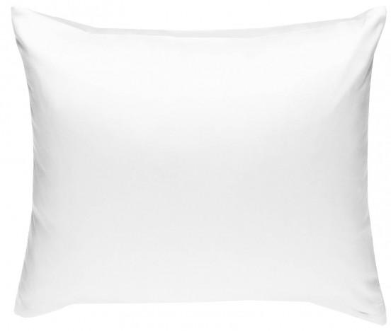 Mako Satin Kissenbezug weiß 100% Baumwolle von Bettwaesche-mit-Stil