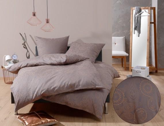 bettw sche davos goldbraun bettwaesche mit stil. Black Bedroom Furniture Sets. Home Design Ideas