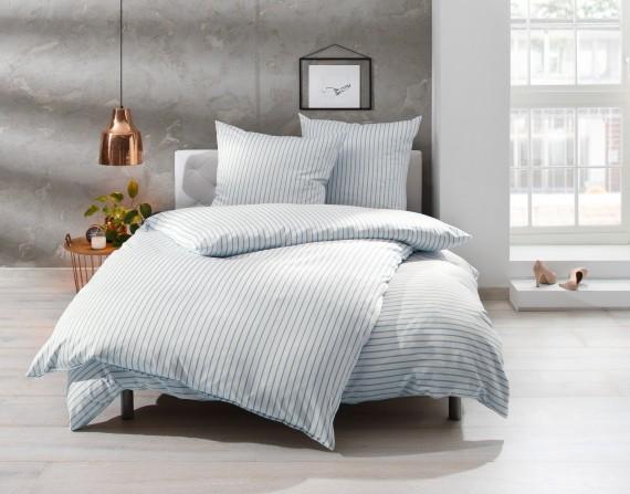 Bettwäsche 155x200 In Hellblauweiß Auf Bettwaesche Mit Stil