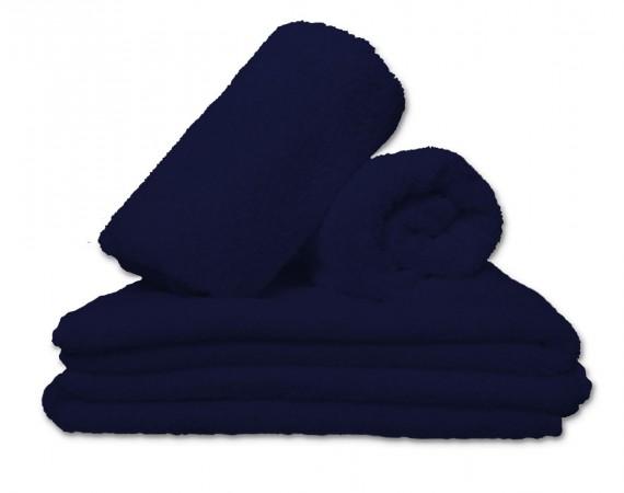 Lorena Handtuch blau in verschiedenen Größen