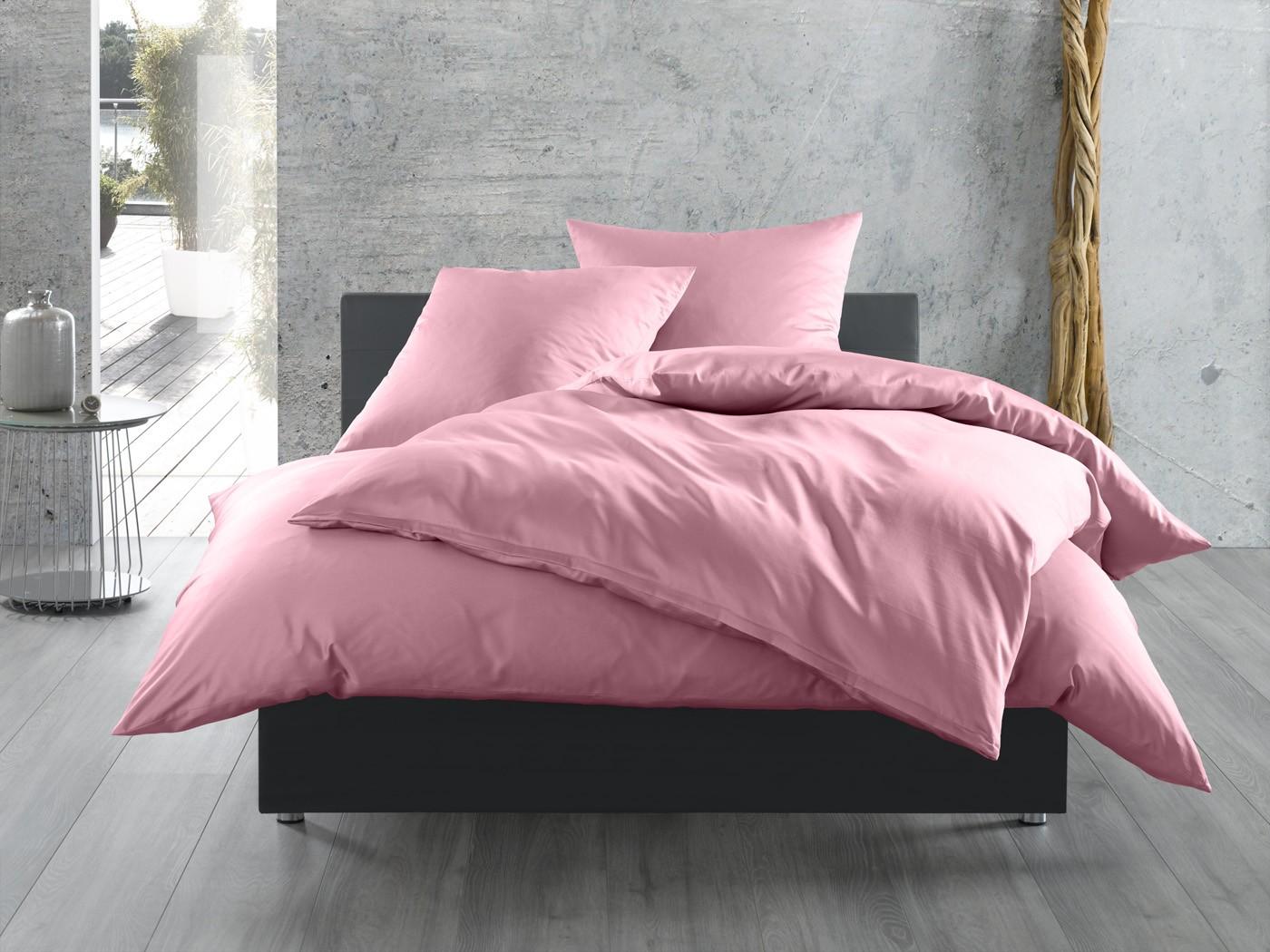 bettw sche in hellrosa auf bettwaesche mit stil. Black Bedroom Furniture Sets. Home Design Ideas