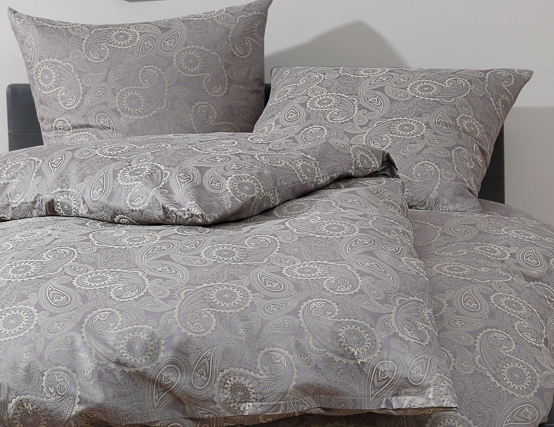bettw sche 200x220 davos gr n kaufen bettwaesche mit stil. Black Bedroom Furniture Sets. Home Design Ideas