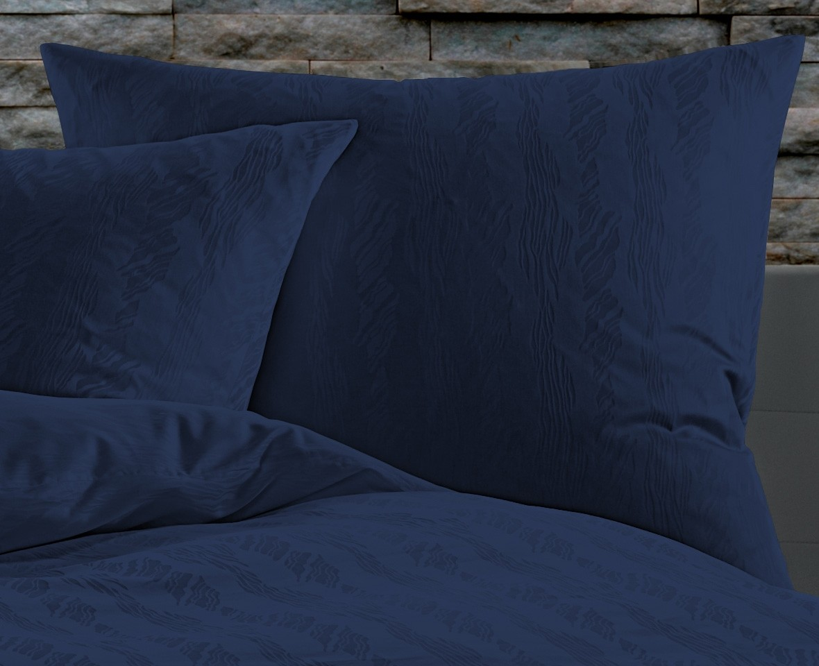 bettw sche 200x220 waves dunkelblau bettwaesche mit stil. Black Bedroom Furniture Sets. Home Design Ideas