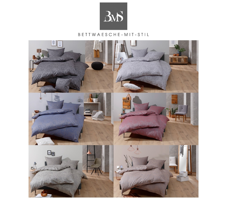 bettw sche davos dunkelblau bei bettwaesche mit stil. Black Bedroom Furniture Sets. Home Design Ideas