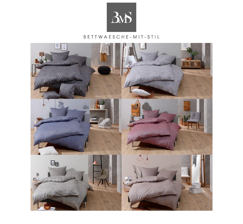 Bettwäsche 155x200 Davos Dunkelblau Bei Bettwaesche Mit Stil