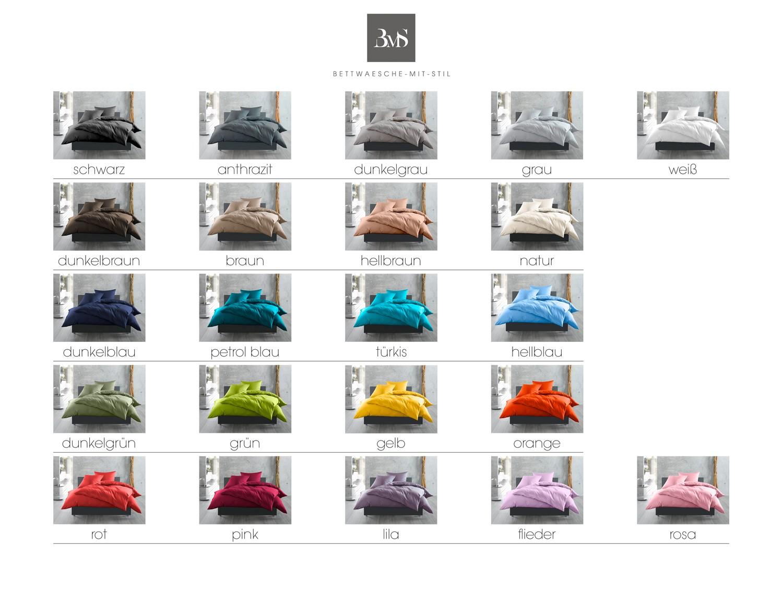 einfarbige bettw sche in blau bettwaesche mit stil. Black Bedroom Furniture Sets. Home Design Ideas