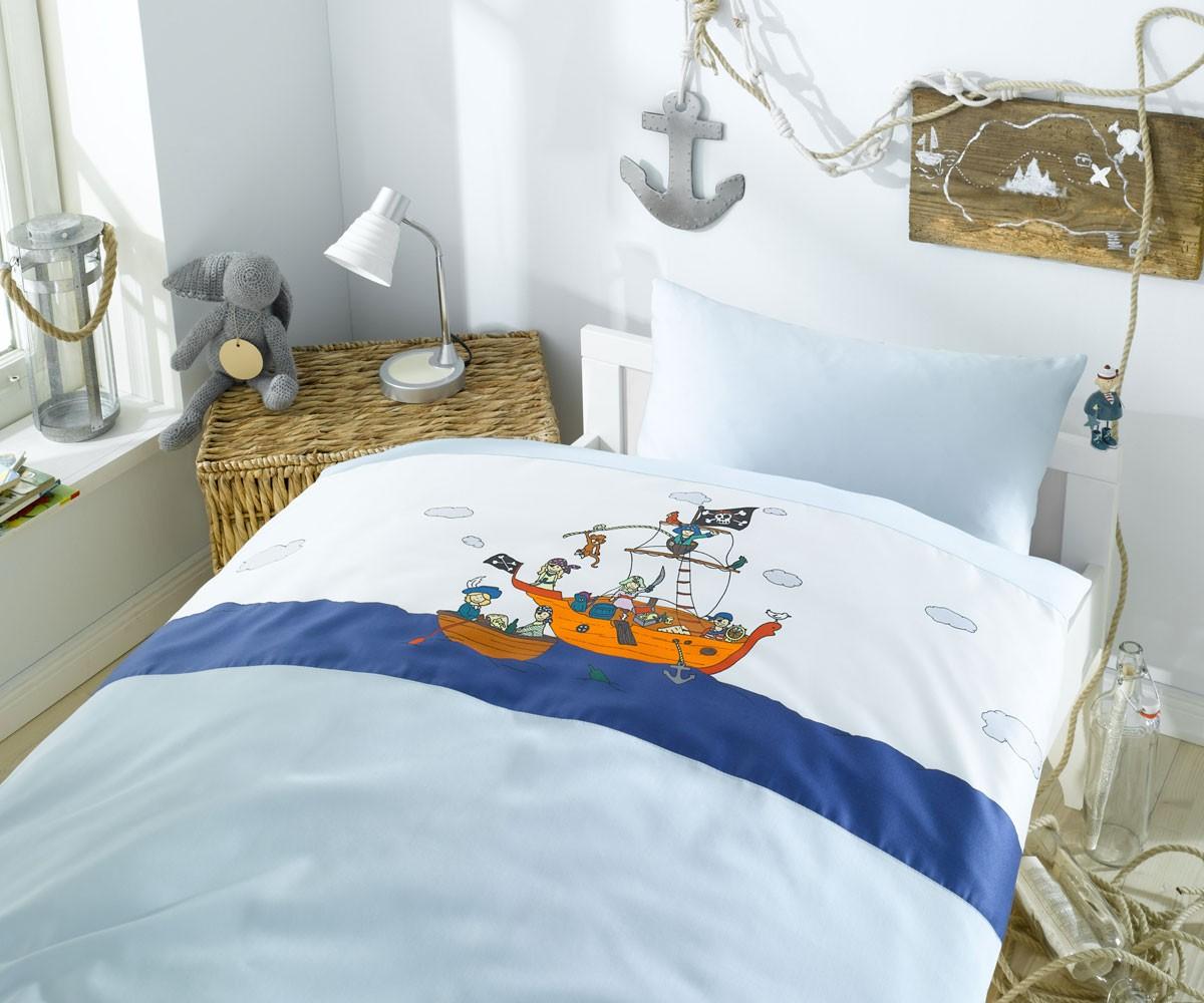 Bettwasche Fur Kinderzimmer ~ Kinder bettwäsche piraten bettwaesche mit stil