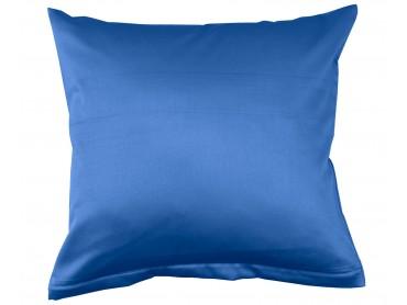 Lorena Mako-Satin einfarbiges Kissen Classic royalblau
