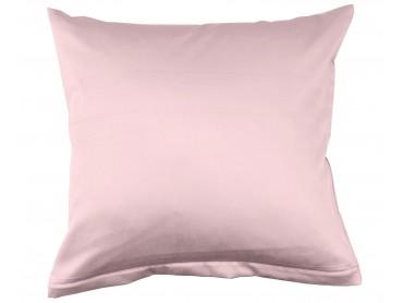 Lorena Mako-Satin uni einfarbiges Kissen Classic rose-rosa