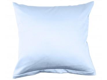 Lorena Mako-Satin uni einfarbiges Kissen Classic blue-blau