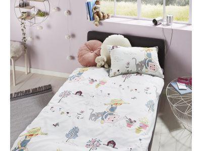 Lorenchen von Lorena Mako-Satin Kinder Bettwäsche Paula