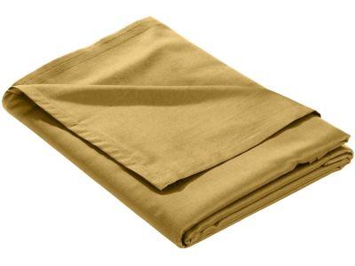 Mako Satin Bettlaken ohne Gummizug gold