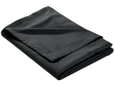 Mako Satin Bettlaken ohne Gummizug anthrazit