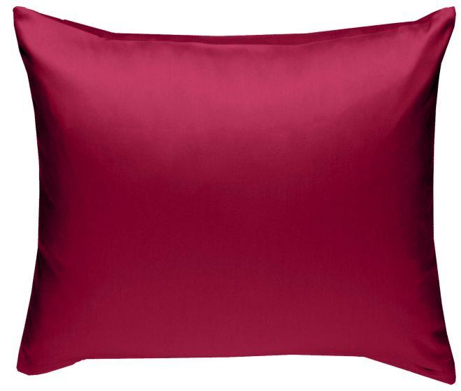 Mako Satin Kissenbezug pink 100% Baumwolle von Bettwaesche-mit-Stil
