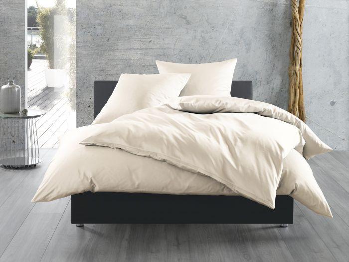 Bettwaesche-mit-Stil Mako-Satin Bettwäsche uni einfarbig