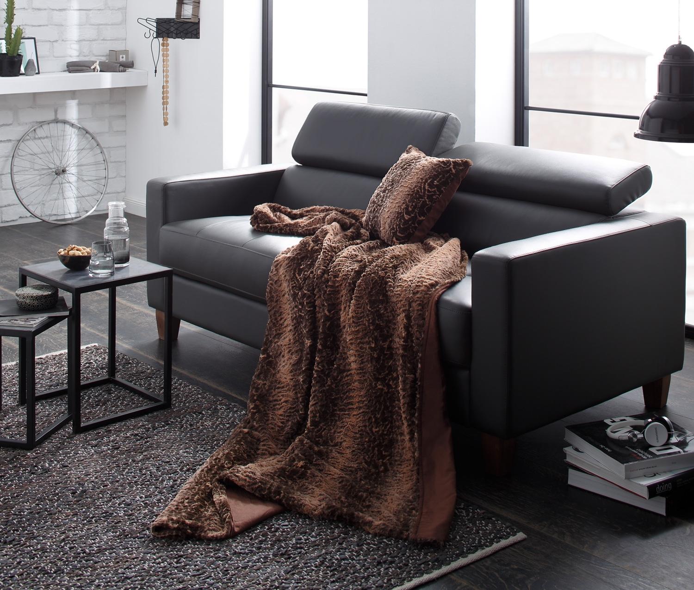 fellkissen bezug f r dekokissen sofakissen 40x40 cm bms. Black Bedroom Furniture Sets. Home Design Ideas