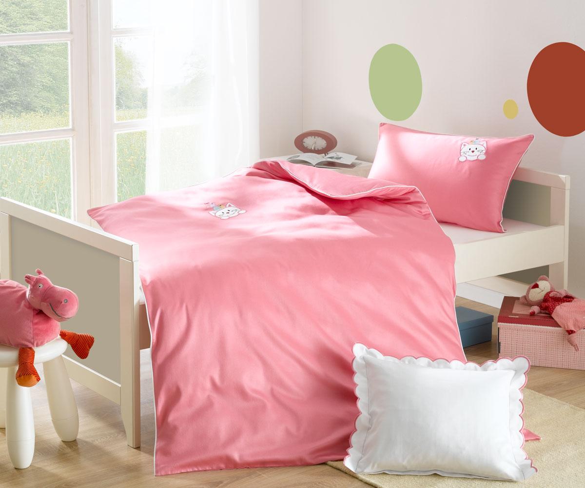 Kinder Bettwäsche Mietze Rosa Bettwaesche Mit Stil